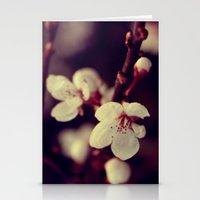 Deep Blossom Stationery Cards