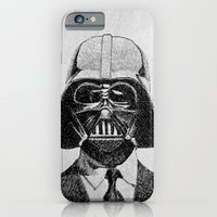 iPhone & iPod Case featuring Darth Vader portrait by Nicolas Jolly