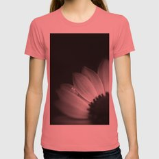 Anemone Womens Fitted Tee Pomegranate SMALL