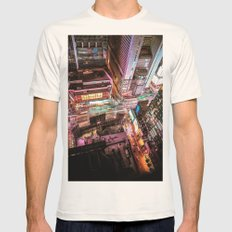 NYC  Mens Fitted Tee Natural SMALL