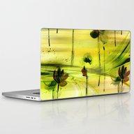 Dancing Flowers Abstract Laptop & iPad Skin