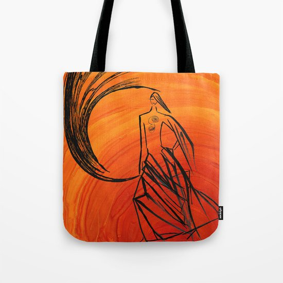 Angel under cover Tote Bag