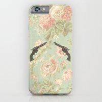 Guns & Flowers iPhone 6 Slim Case