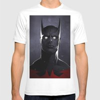 BeyondBat Mens Fitted Tee White SMALL