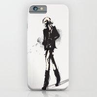 Fringe - Fashion Illustr… iPhone 6 Slim Case