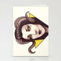 Id - The Devil Is A Woma… Stationery Cards
