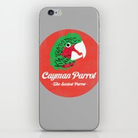 Cayman Parrot iPhone & iPod Skin