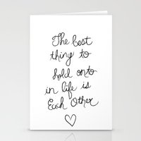 The Best Thing. Stationery Cards