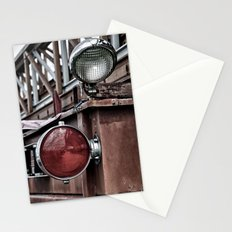 Lights on the Ladder Truck Stationery Cards