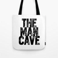 Man Cave 2 Tote Bag