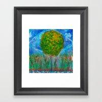 The origins Framed Art Print