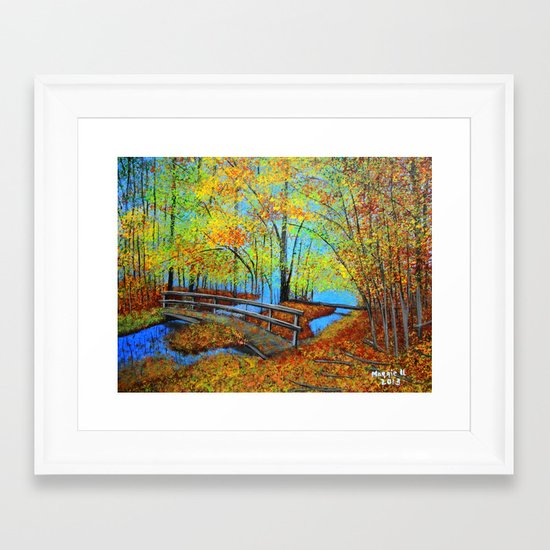 Autumn landscape 4 Framed Art Print