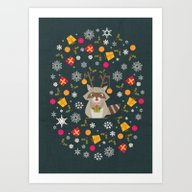 Ornaments Art Print
