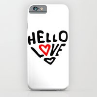 iPhone & iPod Case featuring Hello Love by Sarah Jane Design