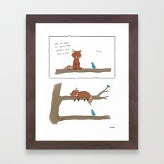 Upstairs  Framed Art Print