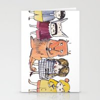 Moo Friends Stationery Cards