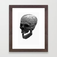 IRON SKULL Framed Art Print