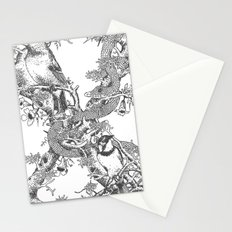 Letter 'X' Monochrome Stationery Cards