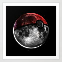 Pokemoon Art Print