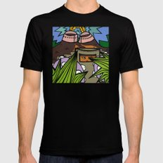 STEP BACK! THIS is OUR ELECTROMAGNETIC RECHARGING STATION! Mens Fitted Tee Black SMALL