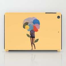 i dream of you amid the flowers iPad Case