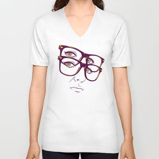 Y. V-neck T-shirt