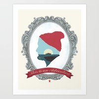 This Is An Adventure - Zissou Art Print