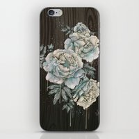 Peony Wood iPhone & iPod Skin