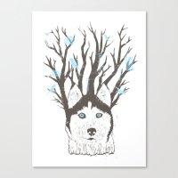 Siberian Canvas Print