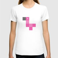 pixel T-shirts featuring Pixel by pixel – Flamingo by favati