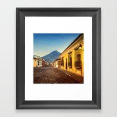 Antigua - Guatemala Framed Art Print