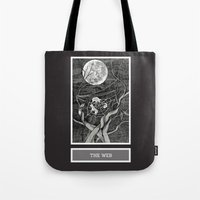 Shadow Season: The Web Tote Bag