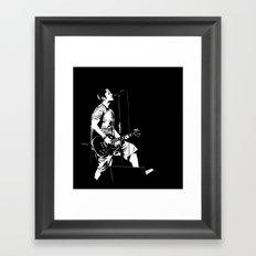 T. S. B/W Framed Art Print
