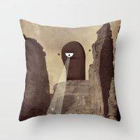 Doom! Throw Pillow