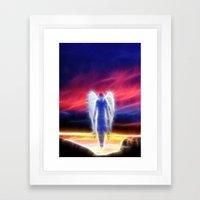 Spirit in the Sky Framed Art Print