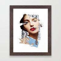 Make Me Beautiful | Coll… Framed Art Print