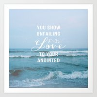 UNFAILING LOVE Art Print