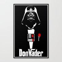DonVader Canvas Print