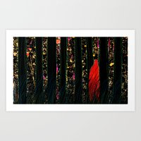One Day, Suddenly Art Print
