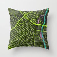 2nd Biggest Cities Are C… Throw Pillow