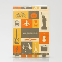 All the feels Stationery Cards
