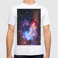 StarField Mens Fitted Tee Ash Grey LARGE