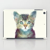 iPad Case featuring Cat // Aware by Amy Hamilton
