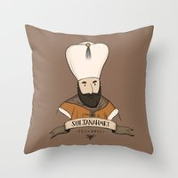 Sultanahmet, Istanbul Throw Pillow
