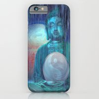 iPhone Cases featuring Buddha by Digital-Art