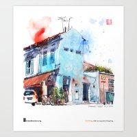 """Paul Wang, """"Pahang Str… Art Print"""