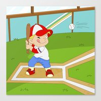 Non Olympic Sports: Base… Canvas Print