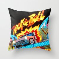 Rock & Roll On The Midwa… Throw Pillow