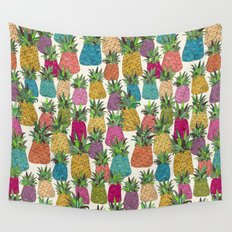 West Coast pineapples Wall Tapestry