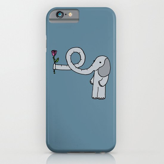 Elephant in love iPhone & iPod Case